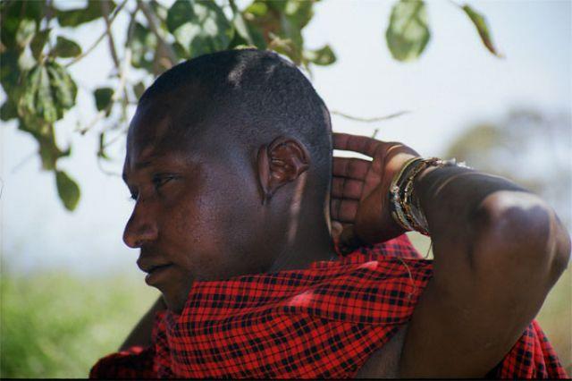 Zdjęcia: Longido, zamyślenie, TANZANIA