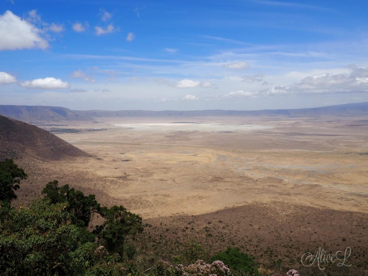 Zdjęcia: Ngorongoro, Północ, Pierwsze spotkanie z Ngorongoro, TANZANIA