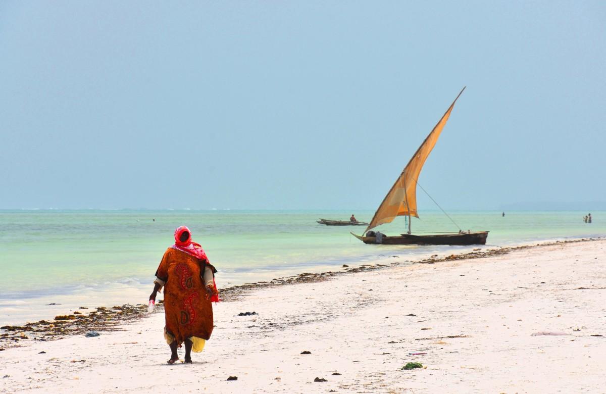 Zdjęcia: wybrzeże wschodnie, Zanzibar, Idąc wybrzeżem, TANZANIA