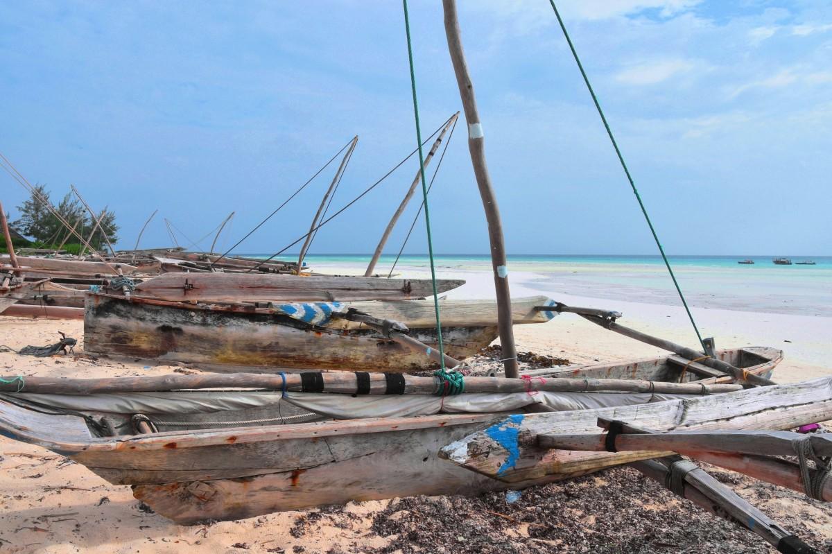 Zdjęcia: północne wybrzeże, Zanzibar, Ngalawy, TANZANIA