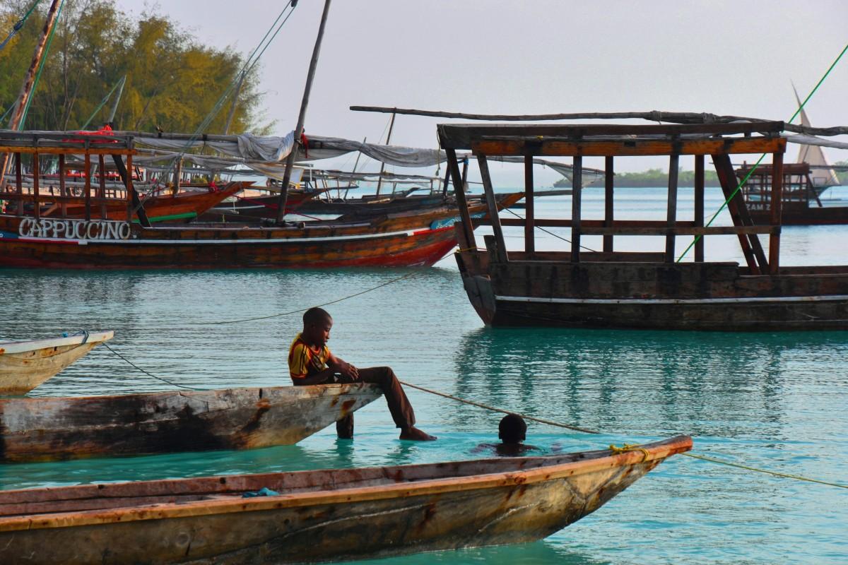 Zdjęcia: wybrzeże zachodnie, wioska Kendwa, Zanzibar, Leniwe popołudnie, TANZANIA