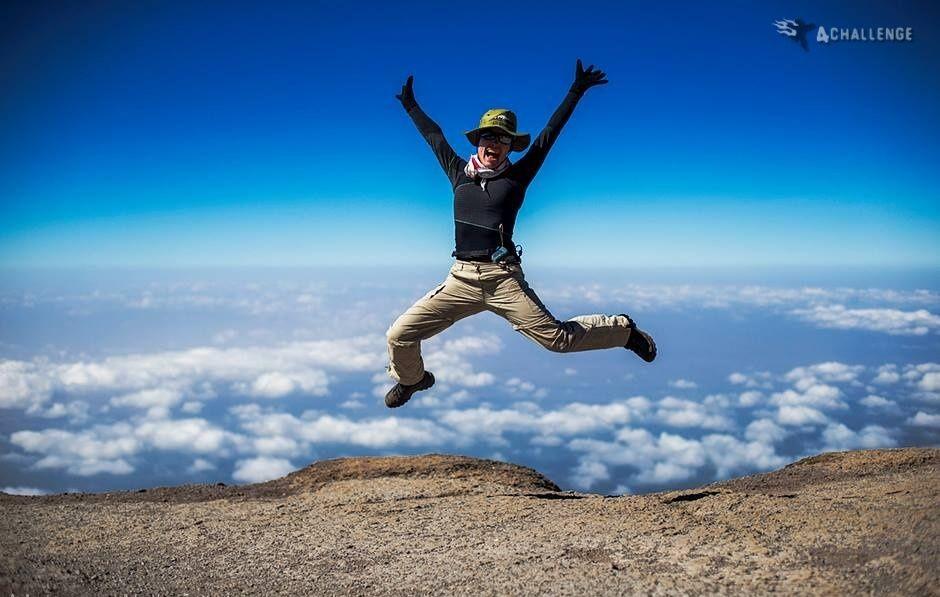 Zdjęcia: Kilimandżaro,  , Na szczycie Kilimandżaro, TANZANIA