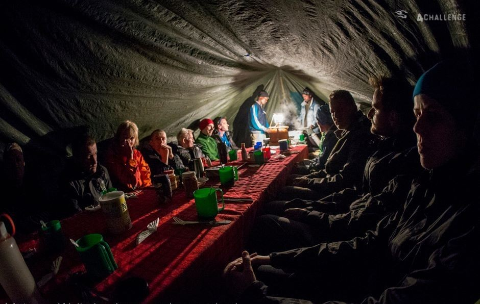Zdjęcia: Kilimandżaro,  , Kili - nocleg w namiotach, TANZANIA