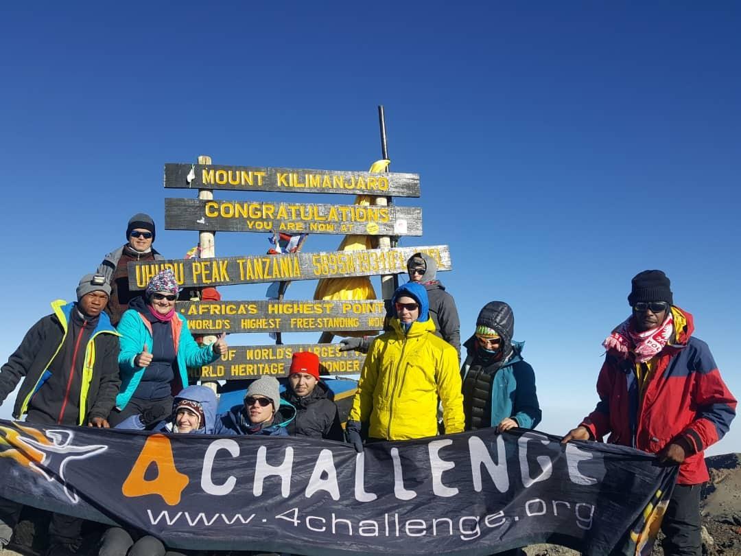 Zdjęcia:  , Kilimandżaro, Szczyt Uhuru Peak, TANZANIA