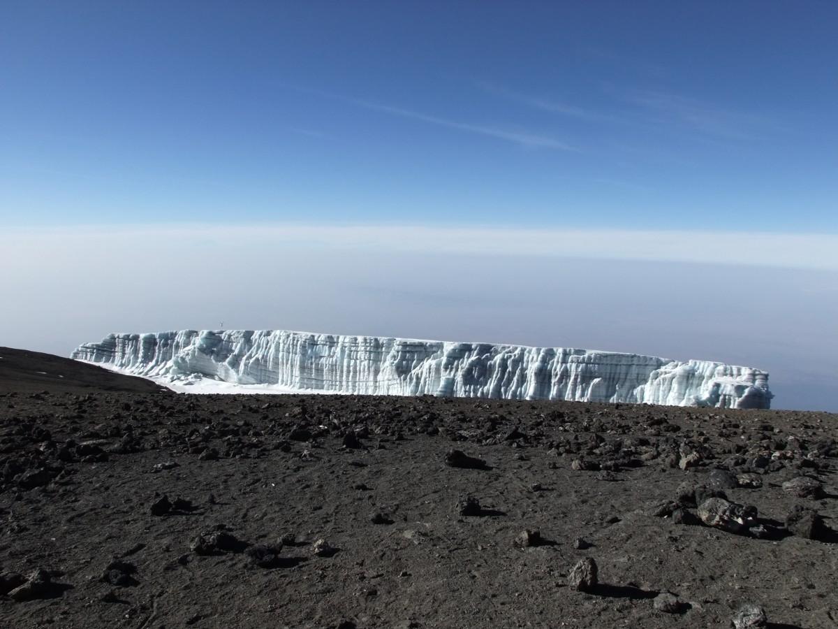 Zdjęcia: Przed szczytem Kilimandżaro, Kilimandżaro, Kilimandżaro, TANZANIA