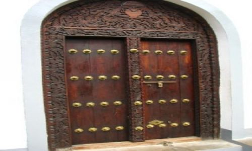 Zdjecie TANZANIA / brak / Zanzibar,  / drzwi, Stone Town