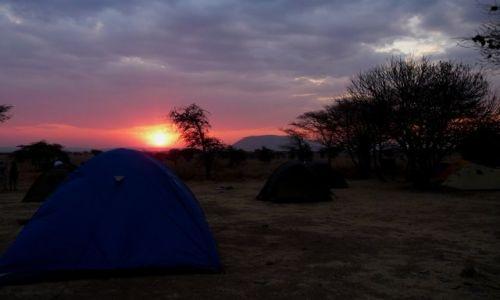 Zdjęcie TANZANIA / Serengeti National Park / Serengeti Lodge / KONKURS Zachód  Słońca w Serengeti