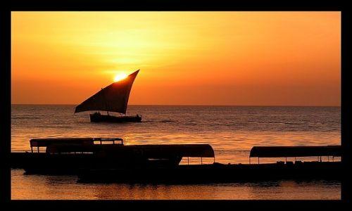 Zdjęcie TANZANIA / Zanzibar / Stone Town / Żeglarska sielanka