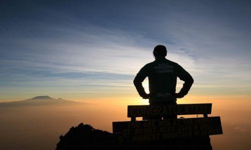 Zdjecie TANZANIA / Arusha National Park / Mount Meru / Na szczycie