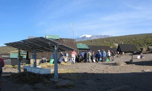 Zdjecie TANZANIA / . / masyw Kilimandżaro / w drodze na szczyt