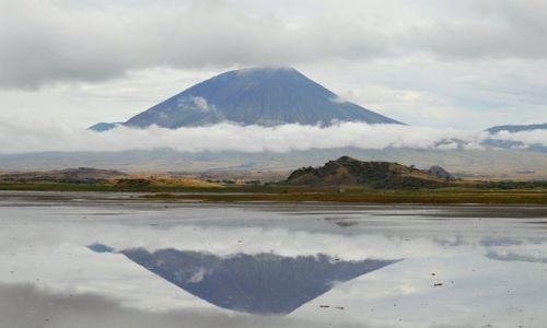 Zdjęcie TANZANIA / Lake Natron / Lake Natron / Ol Doinyo Lengai - święty wulkan Masajów