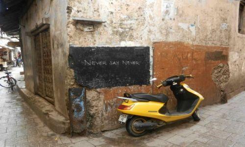 Zdjecie TANZANIA / Zanzibar / Stone Town  / Never Say Never ;-)