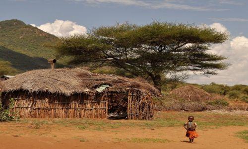 Zdjęcie TANZANIA / Arusha / wioska Masajów / U Masajów