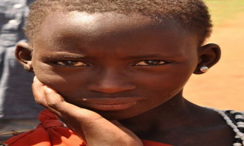 Zdjęcie TANZANIA / Arusha / wioska Masajów / Obserwatorka:)