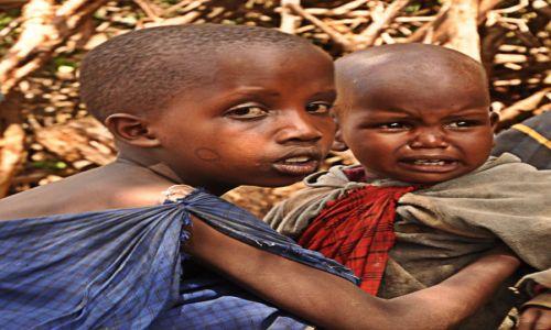 Zdjęcie TANZANIA / Arusha / wioska Masajów / Opiekun:)