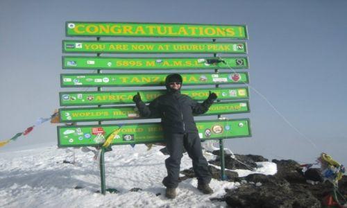Zdjecie TANZANIA / Arusha / Kilimanjaro - Kibo - Uhuru / Kilimanjaro 201