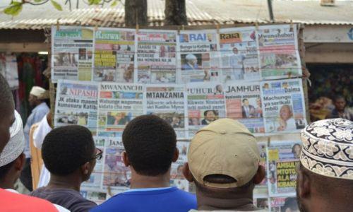 Zdjecie TANZANIA / - / Zanzibar / Poranny przegląd prasy
