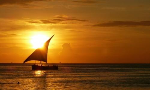 Zdjecie TANZANIA / Zanzibar / Stone Town / Zachod Slonca