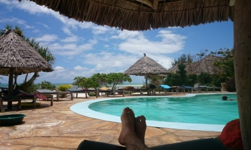 Zdjecie TANZANIA / Zanzibar / Jambiani / Bezwstydne leni
