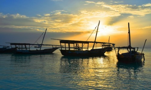 TANZANIA / Zanzibar / wybrzeże zachodnie, wioska Kendwa / W zatoce w Kendwa