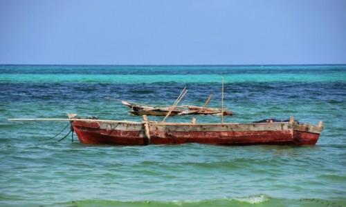 Zdjęcie TANZANIA / Zanzibar / wybrzeże wschodnie / Łodzie