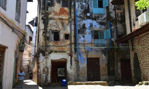 Zdjecie TANZANIA / Zanzibar / Stone Town, wybrzeże zachodnie / Kolorowa kamienica