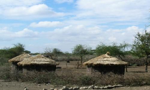 Zdjęcie TANZANIA / obszar chroniony Ngorongoro / j.w. / wioska pasterzy