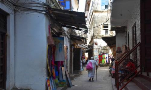 Zdjecie TANZANIA / Zanzibar / Stone Town, wybrzeże zachodnie / W uliczkach starego miasta w Stone Town