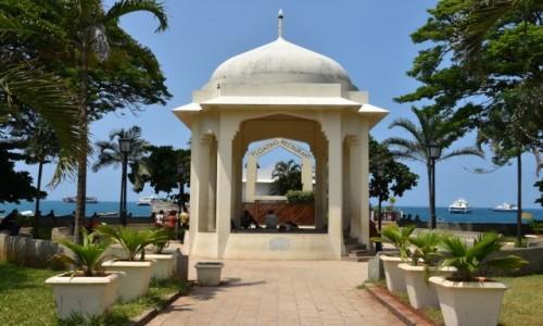 Zdjecie TANZANIA / Zanzibar / Stone Town, wybrzeże zachodnie / Forodhani Gardens