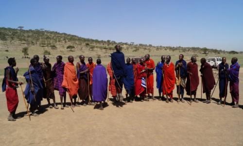 Zdjecie TANZANIA / Serengeti / Serengeti / Skoki Masajów