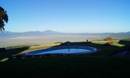Zdjecie TANZANIA / Ngorongoro / Ngorongoro / Widok na krater