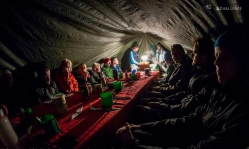 Zdjecie TANZANIA /   / Kilimandżaro / Kili - nocleg w namiotach