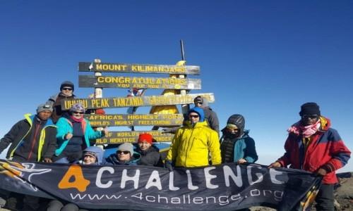 Zdjecie TANZANIA / Kilimandżaro /   / Szczyt Uhuru Peak