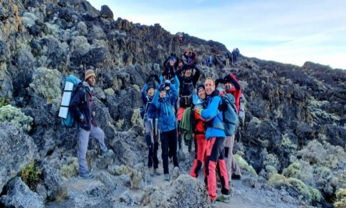 Zdjecie TANZANIA / Kilimandżaro /   / Trasa Machame Route