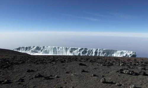 Zdjęcie TANZANIA / Kilimandżaro / Przed szczytem Kilimandżaro / Kilimandżaro
