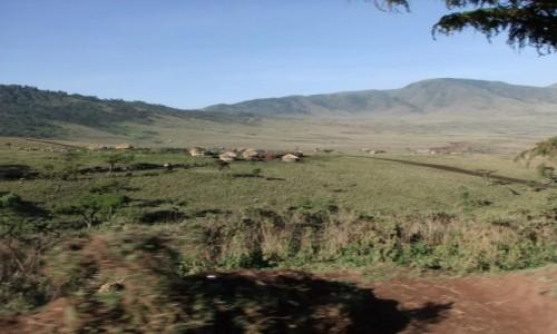 Zdjecie TANZANIA / Afryka Środkowa / Park Ngorongoro / Wioska Masajów