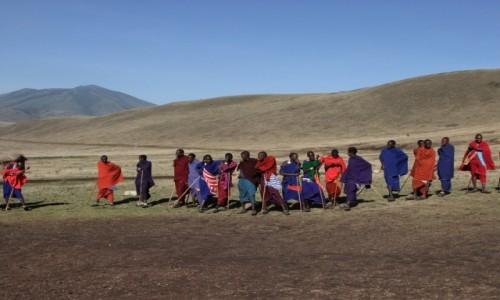 Zdjecie TANZANIA / Afryka Środkowa / Park Ngorongoro / Masajowie