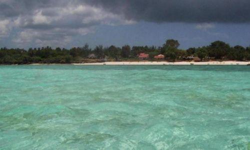 TANZANIA / Zanzibar / Jambiani / malowana woda