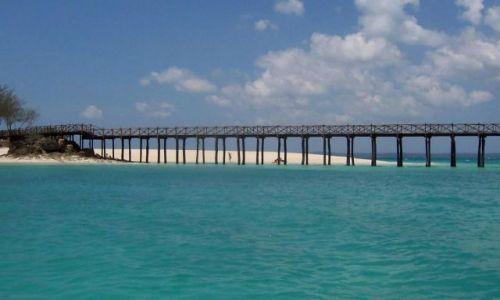 TANZANIA / Zanzibar / Wyspa Skazańców / molo