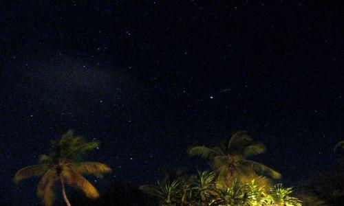 Zdjecie TANZANIA / Zanzibar / plaża / a niebo gwiaździste nade mną...