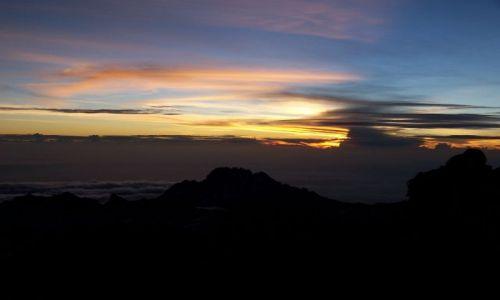 Zdjecie TANZANIA / brak / Kilimanjaro / wschod slonca