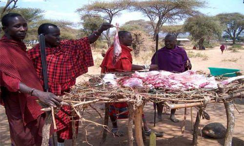 Zdjecie TANZANIA / brak / Longido / targ w wiosce masajskiej