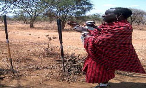 Zdjecie TANZANIA / brak / Longido / przewodnik masajski
