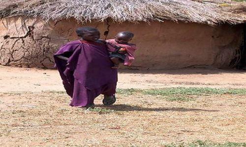 Zdjecie TANZANIA / brak / Longido / w masajskiej wiosce