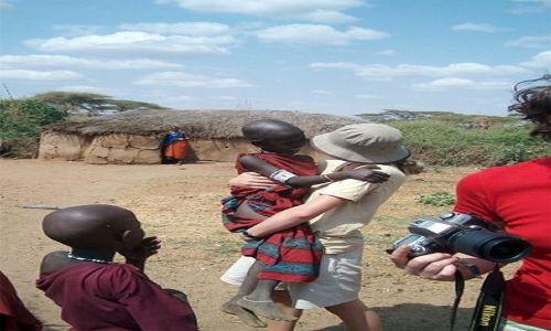 Zdjecie TANZANIA / brak / Longido / w gościnie u Masajów