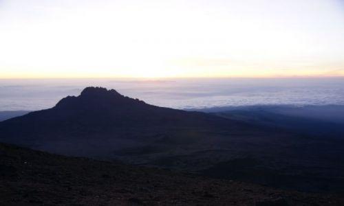 Zdjecie TANZANIA / Kilimandżaro / Stella Point / Morze chmur u stóp Kilimandżaro