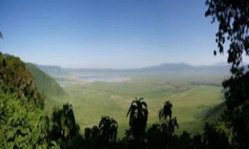 Zdjecie TANZANIA / Ngorongoro / Grób Grzimka / Panorama Ngorongoro