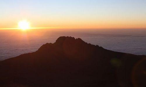 TANZANIA / - / Widok z drogi na Kilimandżaro / Wschód