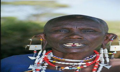 Zdjecie TANZANIA / brak / Longido / masajska kobieta