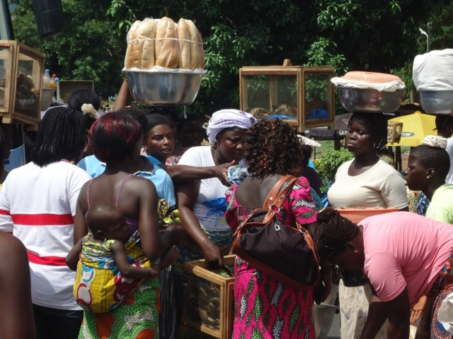 Zdjęcia: Lome, Maritime, Na targu w Lome, TOGO